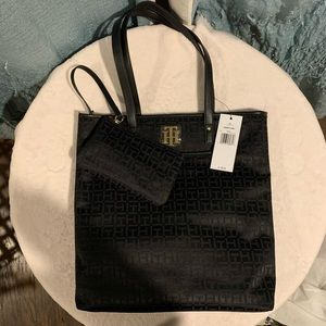 Tommy Hilfiger Tote and Wallet NWT